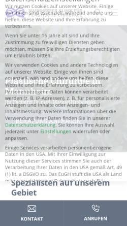 Vorschau der mobilen Webseite www.beautyclinic.de, Mannheimer Klinik für Plastische Chirurgie