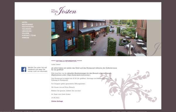 Vorschau von www.hotel-josten.de, Haus Josten in Hinsbeck