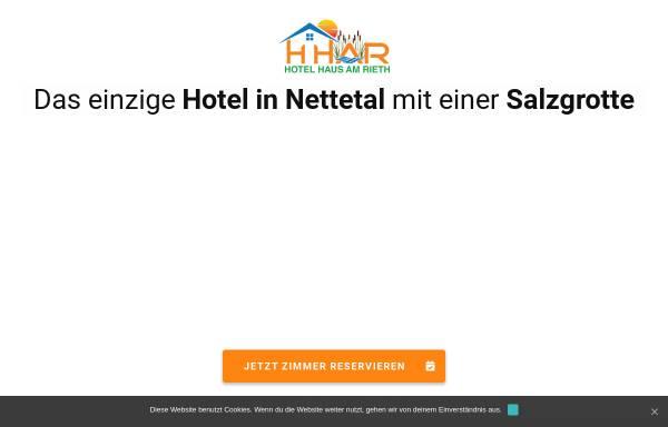 Vorschau von www.hhar.de, Hotel Haus Am Rieth