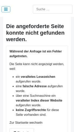 Vorschau der mobilen Webseite www.musicanera.de, Ensemble Flauto Dolce