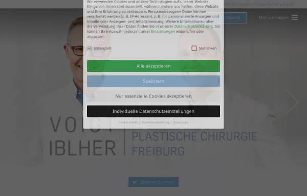 Vorschau von plastische-chirurgie-in-freiburg.de, Praxis für Plastische Chirurgie Freiburg