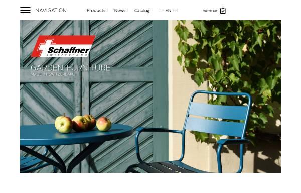 Vorschau von www.schaffner-ag.ch, Schaffner AG