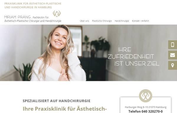 Vorschau von www.plastische-chirurgie-harburg.de, Praxisklinik Dr. med. Sigrid Hülsbergen-Krüger