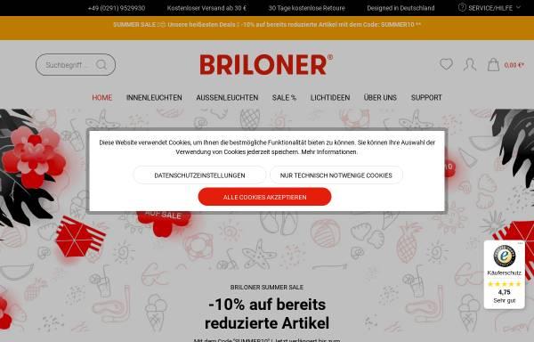 Vorschau von www.briloner.de, Briloner Leuchten GmbH