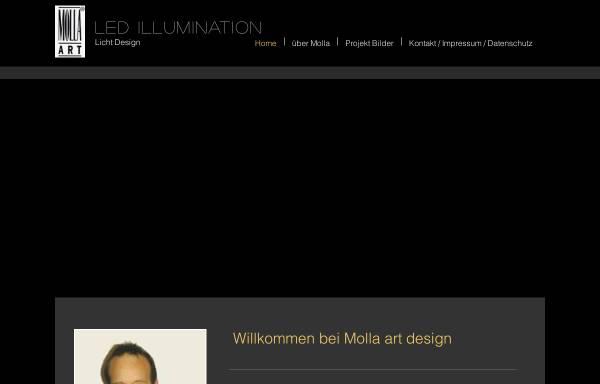Vorschau von www.molla-art.de, Molla Art, Martin Hentrich