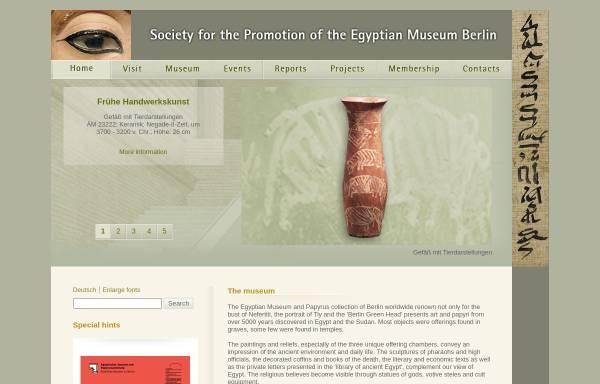 Vorschau von www.egyptian-museum-berlin.com, Ägyptisches Museum Berlin
