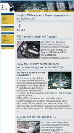 Vorschau der mobilen Webseite www.autogas-saar.de, Autohaus Egler und Koch GmbH Limbach