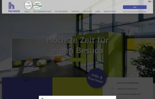 Vorschau von www.herweck.de, Herweck AG