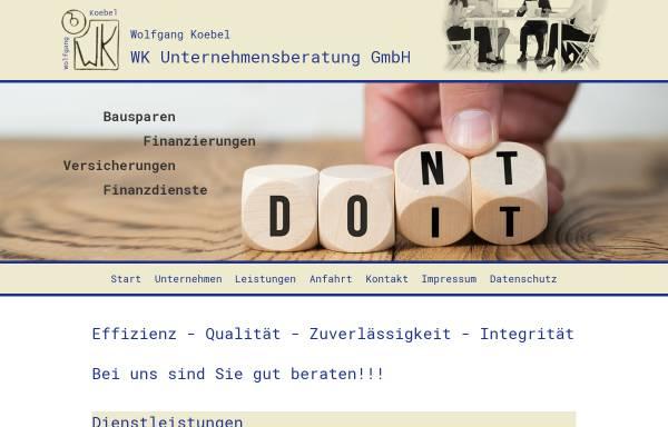 Vorschau von www.wk-unternehmensberatung.de, WK Unternehmensberatung Wolfgang Köbel