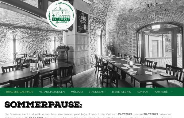 Vorschau von barres-brauwelt.de, Barres Brauwelt