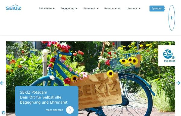 Vorschau von www.sekiz.de, SEKIZ e.V.