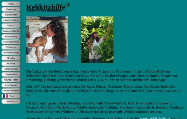 Vorschau von www.rehkitzhilfe.de, Rehkitzhilfe