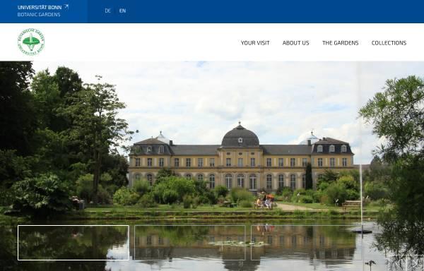 Vorschau von www.botgart.uni-bonn.de, Bonn