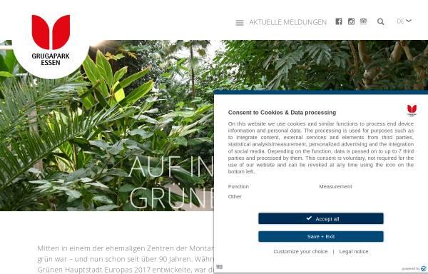 Vorschau von www.grugapark.de, Grugapark Essen