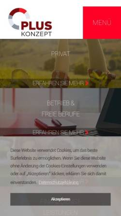Vorschau der mobilen Webseite www.afb.at, AFB Allgemeine Finanzberatungs-GmbH