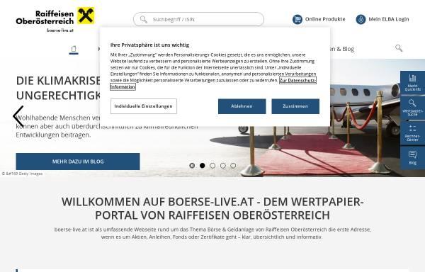 Vorschau von www.boerse-live.at, Börse Live