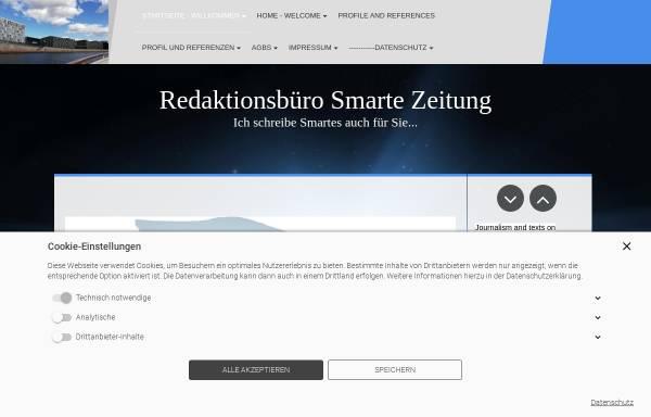 Vorschau von www.smarte-zeitung.com, Redaktionsbüro Smarte Zeitung