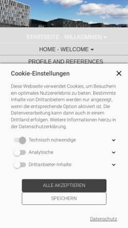 Vorschau der mobilen Webseite www.smarte-zeitung.com, Redaktionsbüro Smarte Zeitung