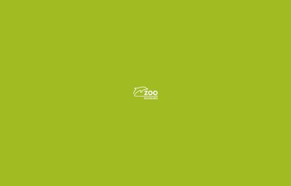 Vorschau von www.zoo-duisburg.de, Zoo Duisburg