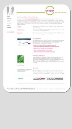 Vorschau der mobilen Webseite www.gareba.ch, Gareba GmbH