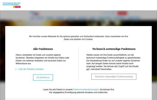 Vorschau von www.vlkrlp.de, Vereinigung Liberaler Kommunalpolitiker Rheinland-Pfalz