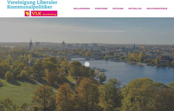 Vorschau von www.vlk-brandenburg.de, Vereinigung Liberaler Kommunalpolitiker Brandenburg