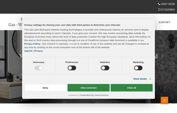 Vorschau von www.seiler-werder.de, Klempnerei- und Installationsgeschäft Seiler