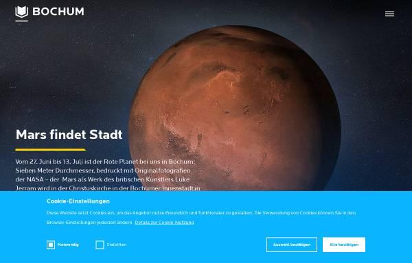 Vorschau von www.bochum-tourismus.de, Bochum Marketing GmbH