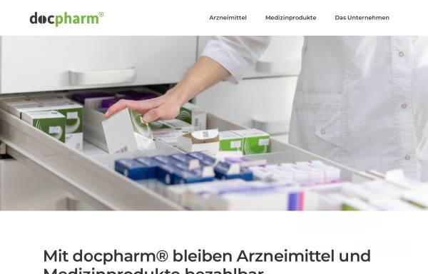 Vorschau von www.docpharm.de, Docpharm Arzneimittelvertrieb GmbH & Co. KGaA