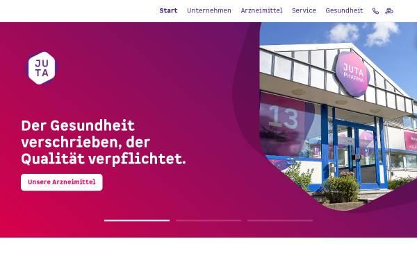 Vorschau von www.jutapharma.de, Juta Pharma GmbH