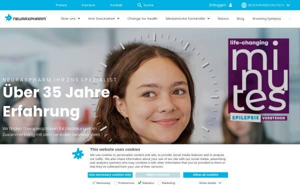 Vorschau von www.neuraxpharm.de, Neuraxpharm Arzneimittel GmbH & Co. KG