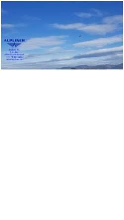 Vorschau der mobilen Webseite www.alpliner.ch, Alpliner