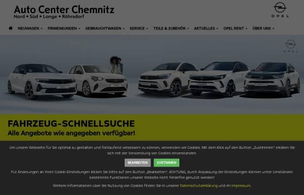Vorschau von www.opel-chemnitz.de, Auto Center Chemnitz / Auto Center Nord GmbH