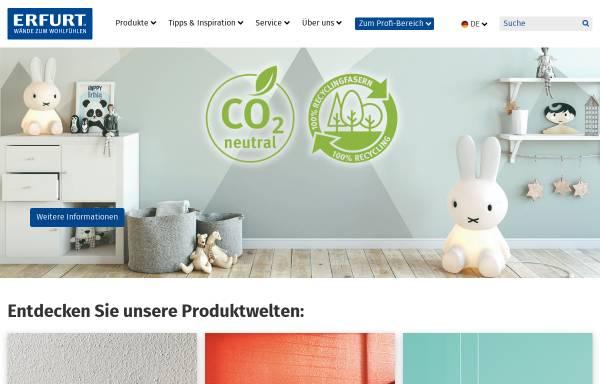 Vorschau von www.erfurt.com, Erfurt & Sohn - Rauhfaser - Tapeten, D-Wuppertal