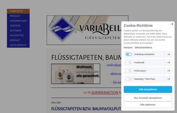 Vorschau von www.variabella.at, Varialbella, Gusel & Buchinger OHG