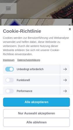 Vorschau der mobilen Webseite www.variabella.at, Varialbella, Gusel & Buchinger OHG