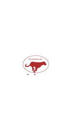 Vorschau der mobilen Webseite www.hundeinfos.de, Hundeinfos.de