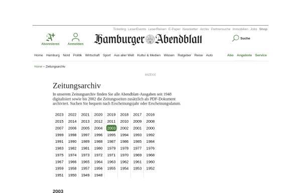 Vorschau von www.abendblatt.de, Hamburger Abendblatt - Elizabeth: Rätsel um Entführung