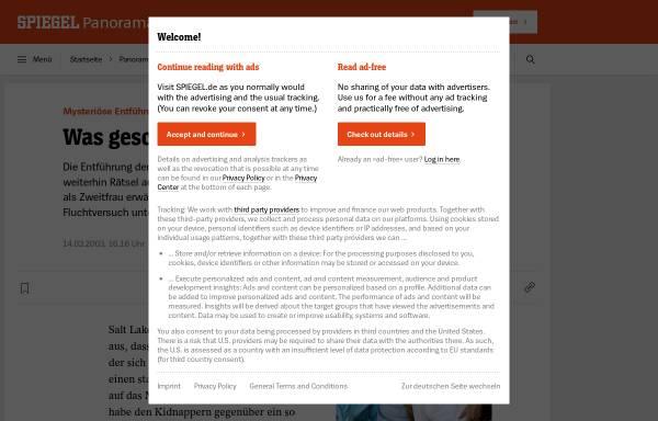 Vorschau von www.spiegel.de, SPIEGEL ONLINE - Mysteriöse Entführung: Was geschah mit Elizabeth Smart?
