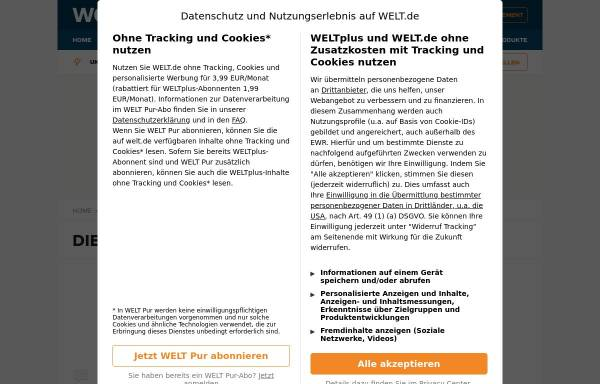 Vorschau von www.welt.de, Die Welt - Das Massaker von Mountain Meadows