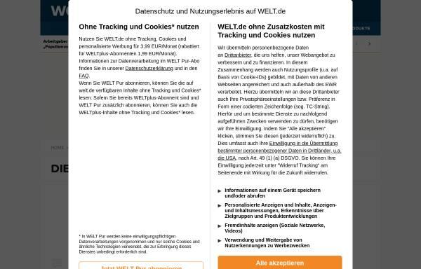 Vorschau von www.welt.de, Die Welt - Fünf Jahre Haft für Mormonen mit fünf Ehefrauen