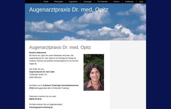 Vorschau von www.augenarzt-trudering.de, Opitz, Dr. med. B.