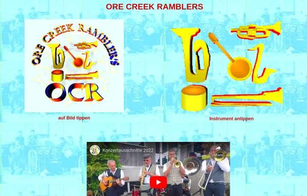 Vorschau von www.o-c-r.ch, Ore Creek Ramblers
