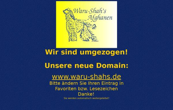 Vorschau von www.afghanen-online.de, Grünbergers Afghanische Windhunde