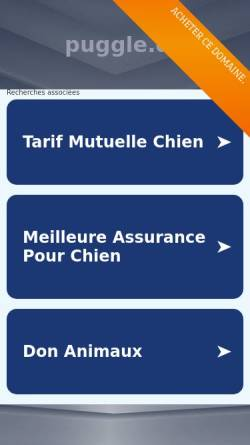 Vorschau der mobilen Webseite www.puggle.de, Puggle.de