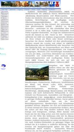 Vorschau der mobilen Webseite www.koblenz-stolzenfels.de, Koblenz-Stolzenfels