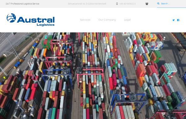 Vorschau von www.austral-logistics.de, Austral Logistics GmbH