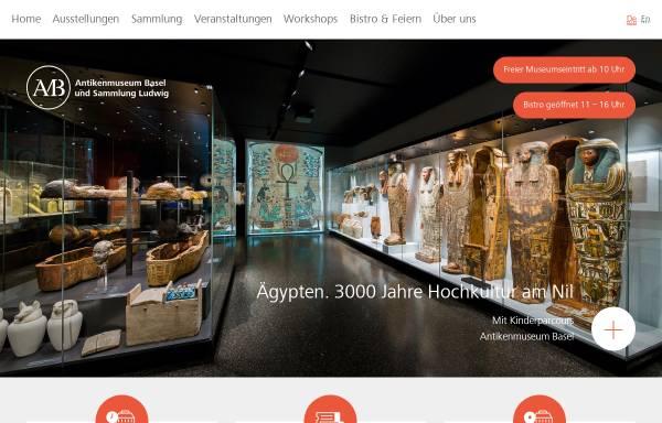 Vorschau von www.antikenmuseumbasel.ch, Basel, Antikenmuseum