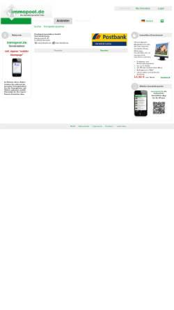 Vorschau der mobilen Webseite www.immopool.de, BHW Immobilien GmbH