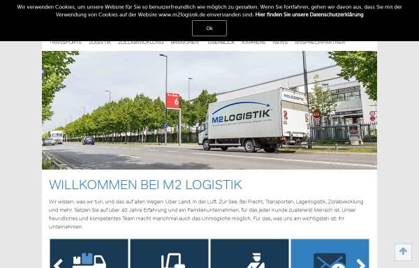 Vorschau von www.m2logistik.de, M2Logistik GmbH